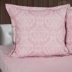 """Постельное белье поплин гладкокрашеный """"Византия розовая"""""""