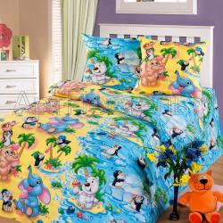 """Купить детское постельное белье из бязи """"Чудо-остров"""""""